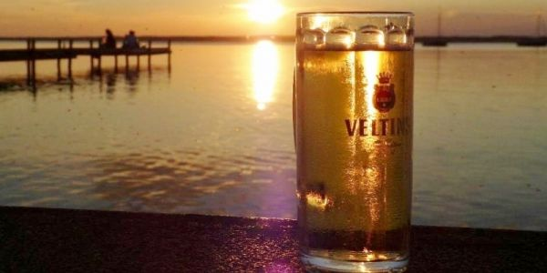 Veltins Bier am Möhnesee