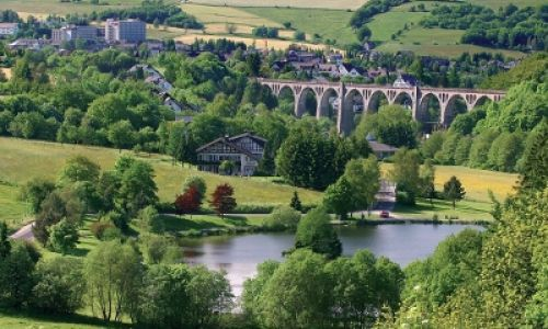 Stryckpark & Viadukt in Willingen