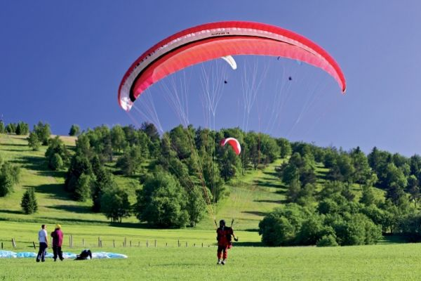 Paragliding in Willingen