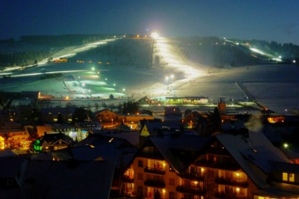 Flutlicht-Ski in Willingen