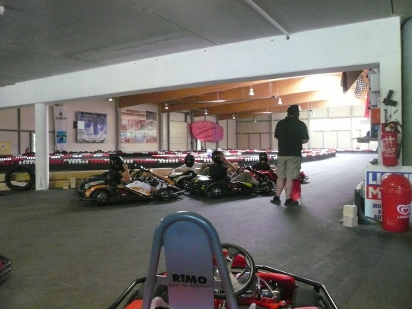 Indoor-kartbahn in Willingen