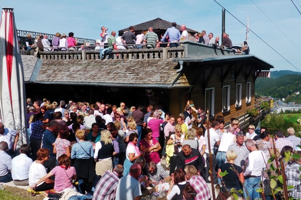 Party auf der Sündalm im Wildieb Willingen