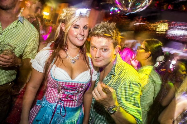 Party in der Dorfalm Willingen